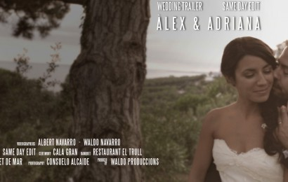 Wedding Trailer – SDE Àlex & Adriana – Waldo produccions